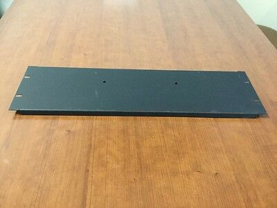 Lot of Four 3U Blank Plate Panel 19""