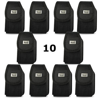 Contractor Pack of 10 Rugged Heavy Duty Canvas Nylon Cases for Sonim XP5