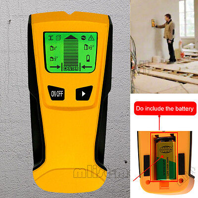 Floureon 3 in 1 Wall Detector Stud Center Finder metal and AC live wire detector