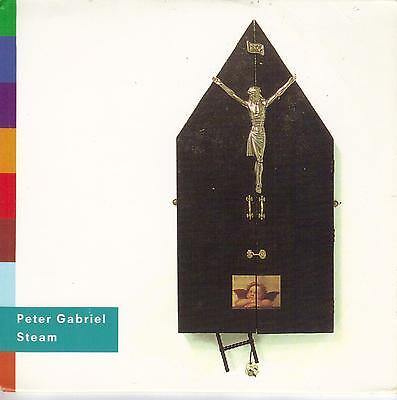 PETER GABRIEL  Steam  2 versions  promo CD single with PicCover