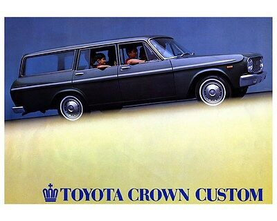 1966 Toyota Crown Station Wagon Factory Photo ca5675
