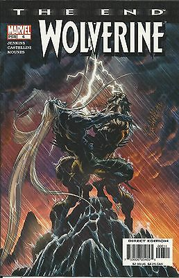 Marvel Wolverine The End comic issue 6