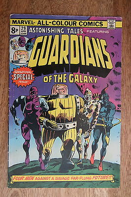 Astonishing Tales 29 - Reprints 1st app. Guardians Of The Galaxy - Marvel Comic