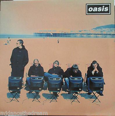 "OASIS ~ Roll With It ~ 12"" Single PS"