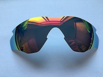 Inew Fire Ruby Red  Replacement Lenses for Oakley M2 Frame