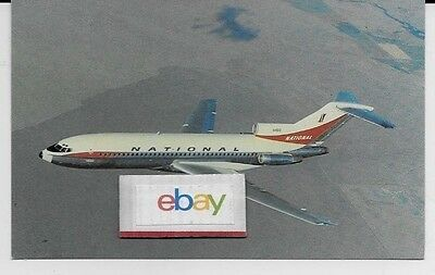 National Airlines Boeing 727-35 Inflight 1964 Delivery Paint Scheme Postcard