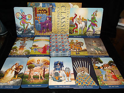 Sealed & Brand New! Llewellyn Classic Tarot Card & Book Oracle Easy To Use