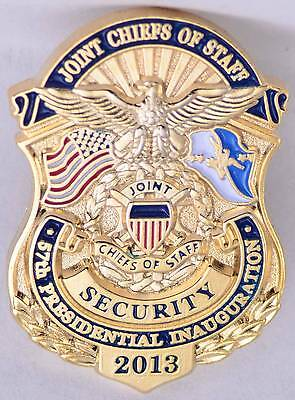 Lapel Hat Pin 2013 Obama Presidential Inauguration Joint Chiefs Staff Security