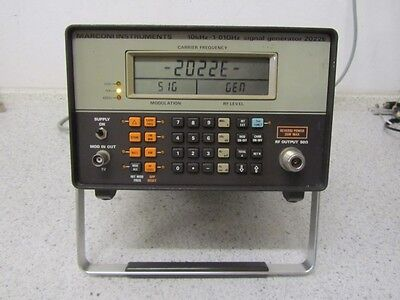 IFR / Marconi 2022E Signal Generator 10kHz - 1,01GHz