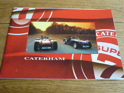 Caterham  Classic, Roadsport And Superlight Brochure 2000 Model Year Plus Prices
