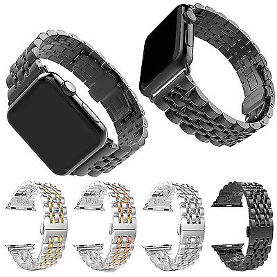 38/42mm Stainless Steel Wrist Watch Band Strap Bracelet For Apple Watch iWatch