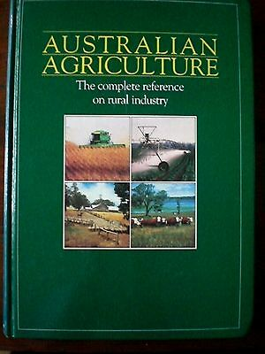 AUSTRALIAN AGRICULTURE, COMPLETE RURAL REFERENCE  Vol 2 1989/90 - NFF -Farming