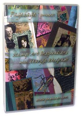PageSage Rubber Stamp Art Inspirations DVD MaryJoMcGraw