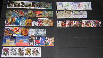 GB #1345//1420 used commemoratives 1991 almost complete cv $40.45