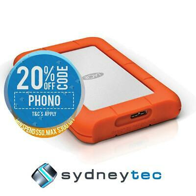New Lacie Rugged Mini 2TB Portable Hard Drive