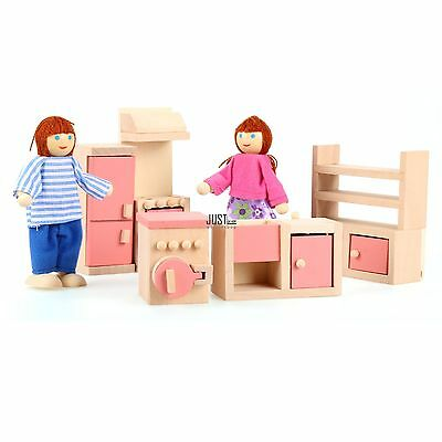 New Wood Fashion Arshiner 11 Piece Doll-house Lounge Room Furniture Set JTOO