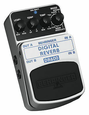 Behringer DR600 Digital Reverb Effects Pedal
