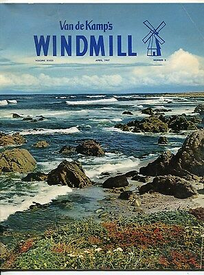 "Vintage VAN DE KAMP'S ""WINDMILL"" Employee Magazine - April 1957"