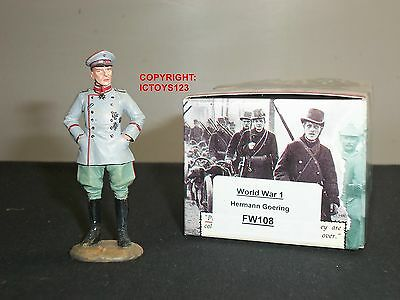 King And Country Fw108 World War One Hermann Goering Metal Toy Soldier Figure
