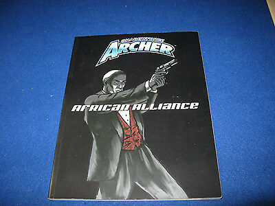 Shadowforce Archer African Alliance Sourcebook Softcover AEG 1007 d20
