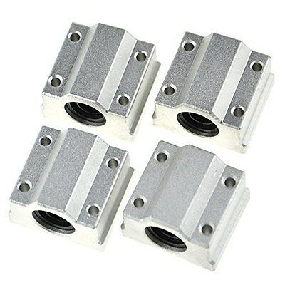 4Pcs SCS16UU 16mm Linear Motion Ball Bearing Slide Unit Bushing 3D Printer CNC