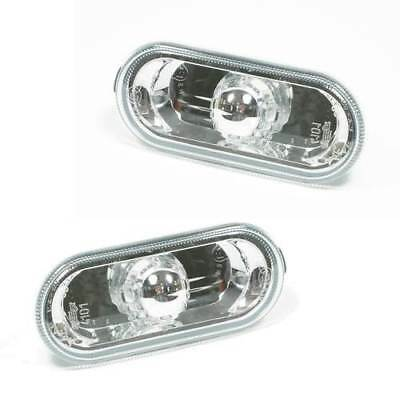 For Seat Leon 2000 - > Crystal Clear Side Repeaters Indicators 1 Pair