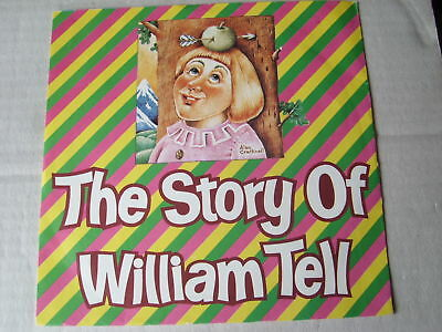 "THE STORY OF WILLIAM TELL 7""record  picture sleeve 1983"