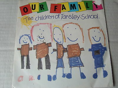 "CHILDRENS 7""record CHILDREN TANSLEY SCHOOL our family"