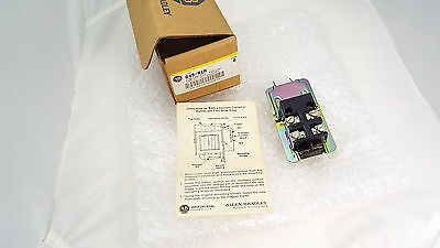 Allen Bradley 849-N1A Auxiliary Contact For Pneumatic Timing Relay Kit Nib