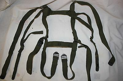 US Military Issue Vietnam Era Strap Assembly Carrying Sleeping Bag Straps