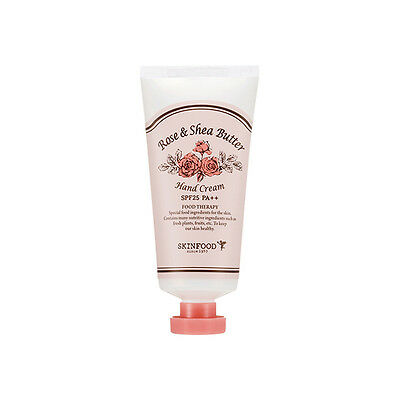 SKINFOOD [Skin Food] Rose & Shea Butter Hand Cream 50g SPF25 PA++ Free gift