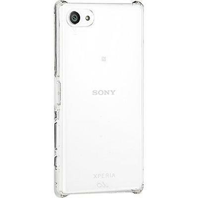 Case-Mate Clear Cover for Sony Xperia Z5 Compact Barely There Case Shell