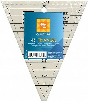EZ 45 Degree Triangle Acrylic Quilting Template (8829421A)