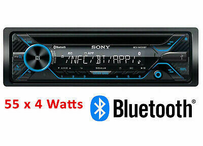 Sony MEX-N4100BT CD MP3 Bluetooth Car Stereo NFC USB Aux-In iPod iPhone - REFURB