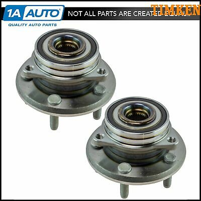 Timken Wheel Bearing & Hub Assembly Front LH RH Pair for Durango Grand Cherokee