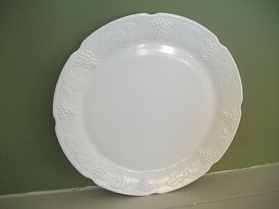 Serving Platter - Colony Harvest - Milk Glass from Indiana Glass