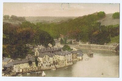 FOWEY View of the Town, Postcard by Frith Unused