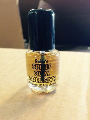 Spirit Gum Adhesive Makeup Appliance Halloween Theatrical Liquid Glue Special Fx