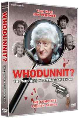 Whodunnit: The Complete Fourth Series  DVD NEW