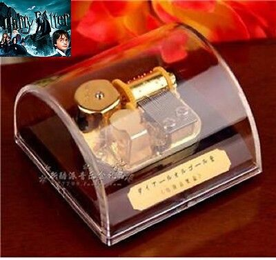 Semi Circle Wind Up Music Box ♫ Harry Potter Hedwigs Theme ♫