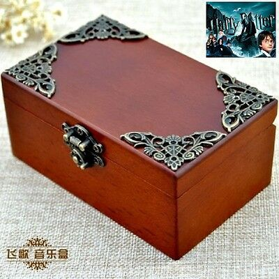 CLASSIC Rectangle jewelry Music Box : Harry Potter Hedwig's Theme