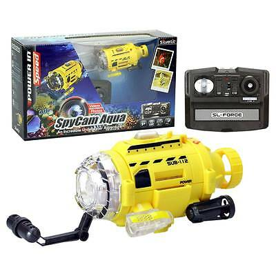 Spy Camera RC Radio Remote Controlled Toy Submarine with Underwater Photo Video