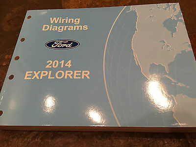 genuine 2012 ford explorer wiring diagrams manual • cad 19 69 2014 ford explorer wiring diagrams electrical service manual