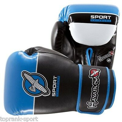 Hayabusa Sport 16Oz Boxing Gloves - Blue