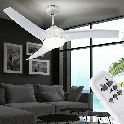 Decken Ventilator Design Lüfter 9 Watt LED Leuchte Büro Windmaschine Lampe Licht