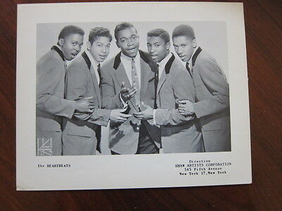 THE HEARTBEATS photo 8x10 doo wop