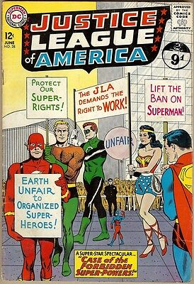 Justice League Of America #28 - VG-