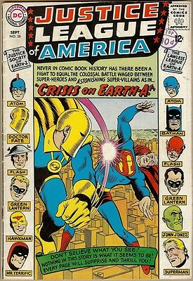 Justice League Of America #38 - VG-