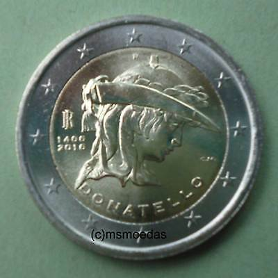 Italien 2 Euro Gedenkmünze 2016 Donatello Euromünze commemorative coin