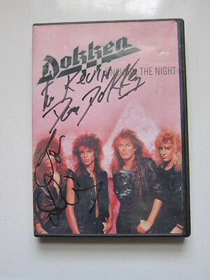 DOKKEN Unchain the Night DVD  AUTOGRAPHED